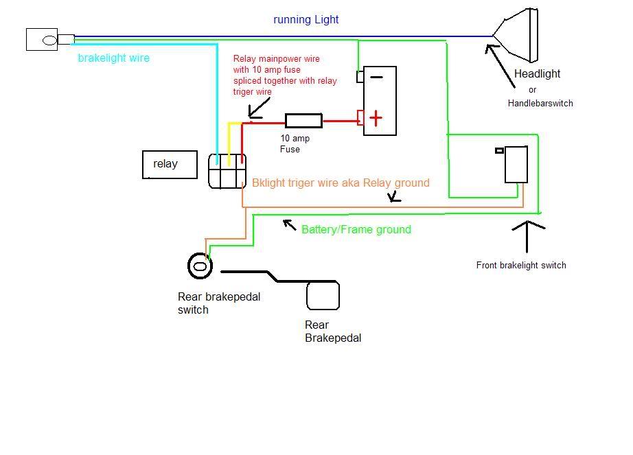 x2 pocket bike wiring diagram | pocketbike forum  pocketbike forum